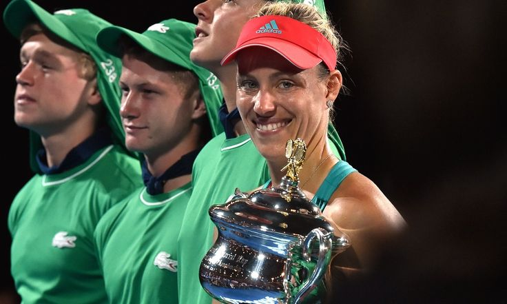 Angelique Kerber stunned Serena Williams to claim a first major title at the Australian Open, denying the world No1 her seventh crown in Melbourne and the chance to pull level with Steffi Graf on 22 grand slam victories