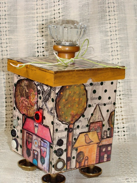 My Art Journal: Altered Boxes & Assemblages