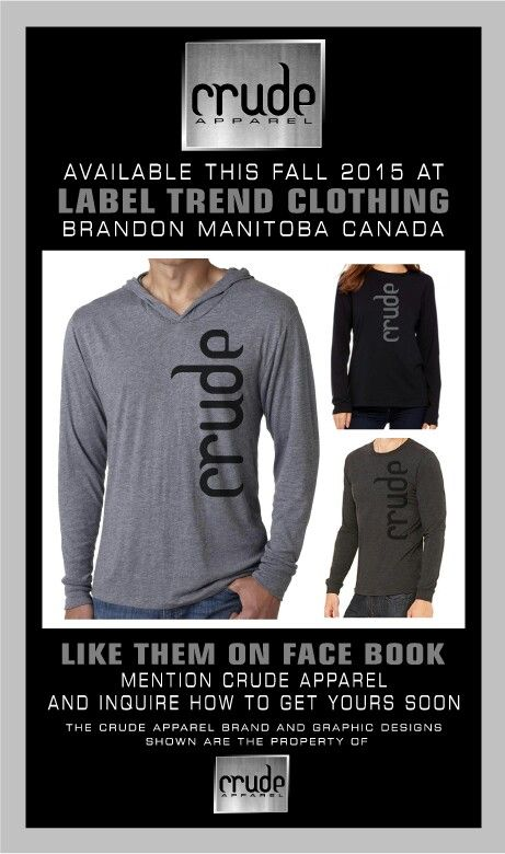 CRUDE APPAREL Building their Brand
