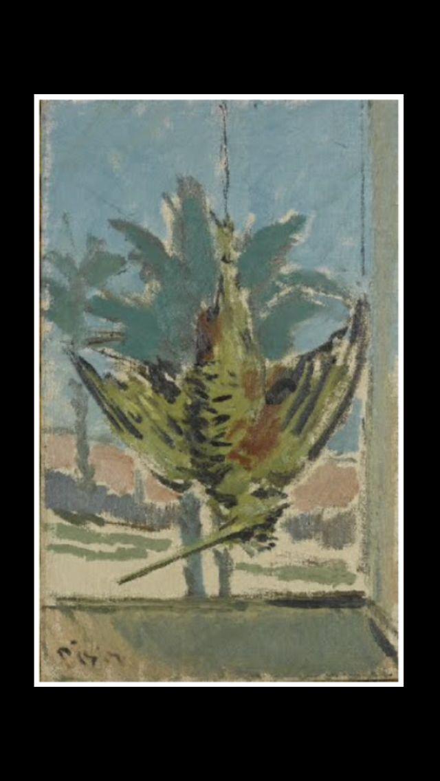 "Fillipo de Pisis - "" Beccaccia "", 1938 - Olio su tela - 40 x 24,9 cm"