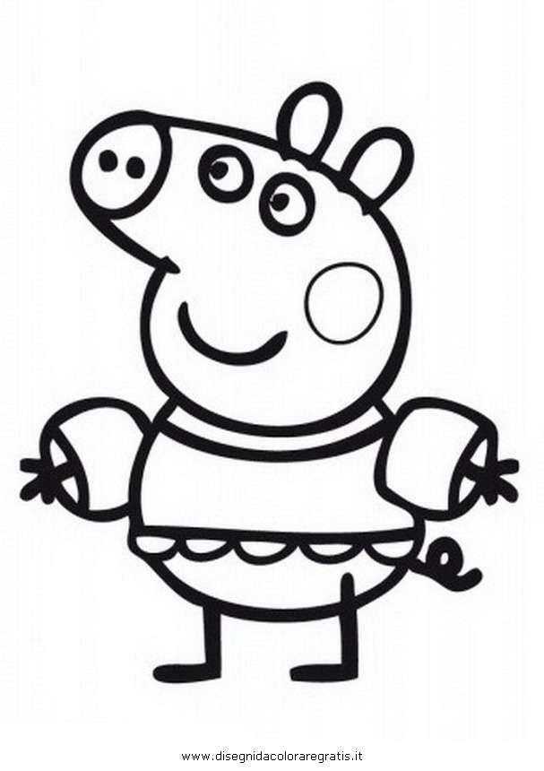 Peppa Pig 5 Top Desenhos Para Colorir Decoracao E Mais Em 2020