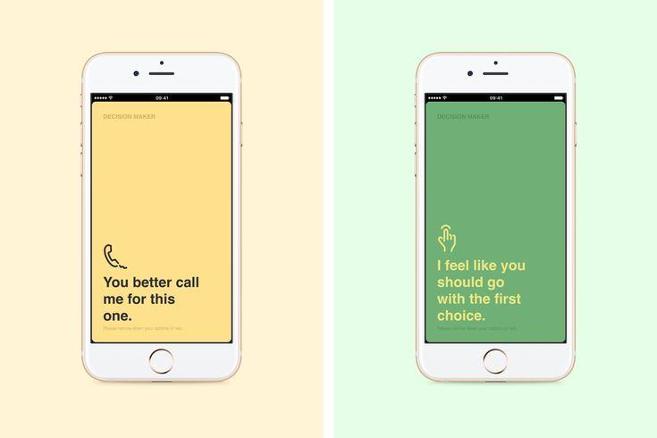 Decision Maker - Web App