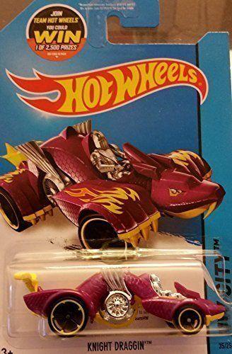 Hot Wheels 2015 HW City Knight Draggin (Dragon Car) 35/250, Purple. #Wheels #City #Knight #Draggin #(Dragon #Car) #Purple