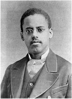 Lewis Latimer (1848–1928) invented an important part of the light bulb — the carbon filament.