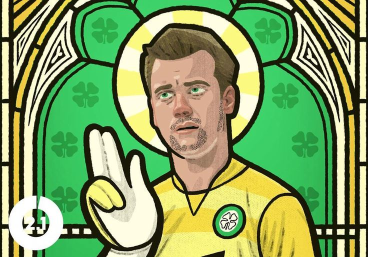 He was an antagonist. He was the 'Holy Goalie.' But he was also reflective of something much bigger at Celtic.    The Cult of... Artur Boruc. Link in bio 📝    Illustration by @shipleyillustration