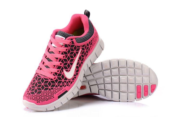 Damer Pink 2013 Nike Free 6.0 Spiderman Kangaroo Leather Sko 590