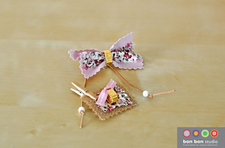 floral pins for girls #bonbonstudio
