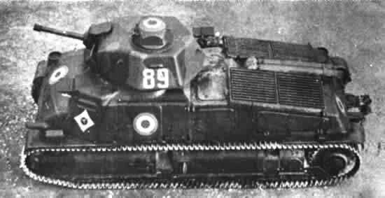 Somua char S-35 medium tank - the best French WWII tank