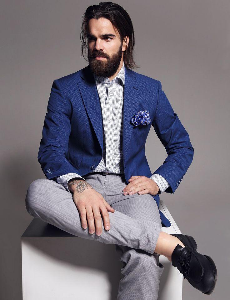 Alain Delon Fashion spring/summer 2016 - Clothes: Alain Delon Fashion, Photo: Lukas Kimlicka, Model: Filip Sebo