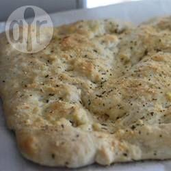 Foto recept: Focaccia uit de Broodmachine