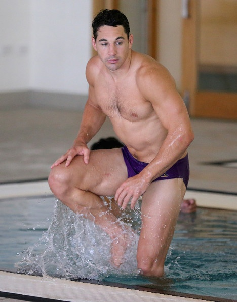 Billy Slater Photo - Melbourne Storm Recovery Session  http://footyboys.com