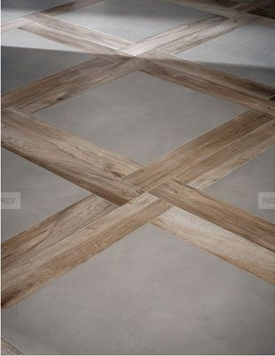 serie block 75x75 and rovere 15x90