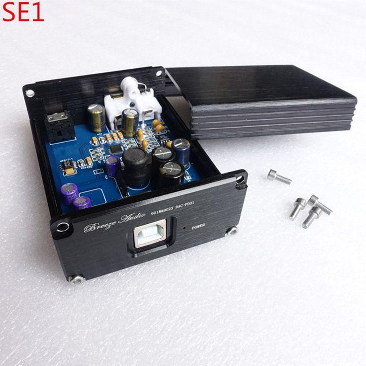 Breeze audio SE1 ES9018 ES9018K2M USB decoder HIFI audio card DAC headpone amplifier earphone amp