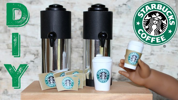 DIY Starbucks Coffee Craft | American Girl Doll