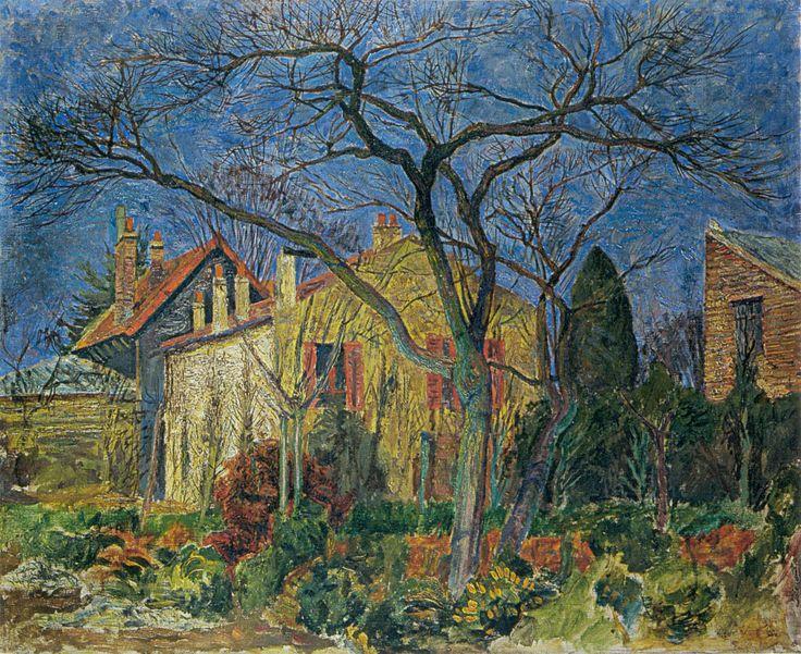 """""""Landscape from Meaux"""" by Zygmunt Waliszewski, 1929"""