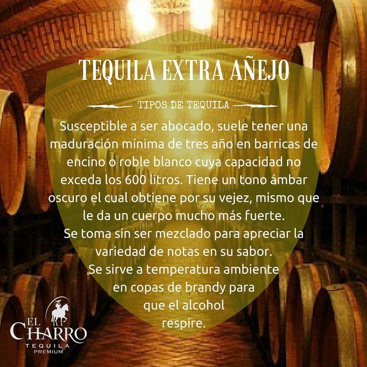 Conoce todos los tipos de tequila!!! #Tequila #ExtraAñejo