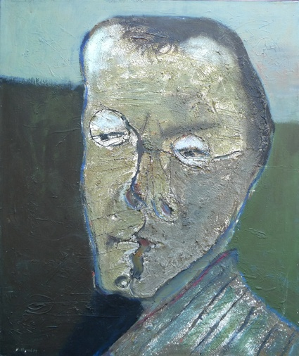 Self Portrait (1985) - Modhir Ahmed