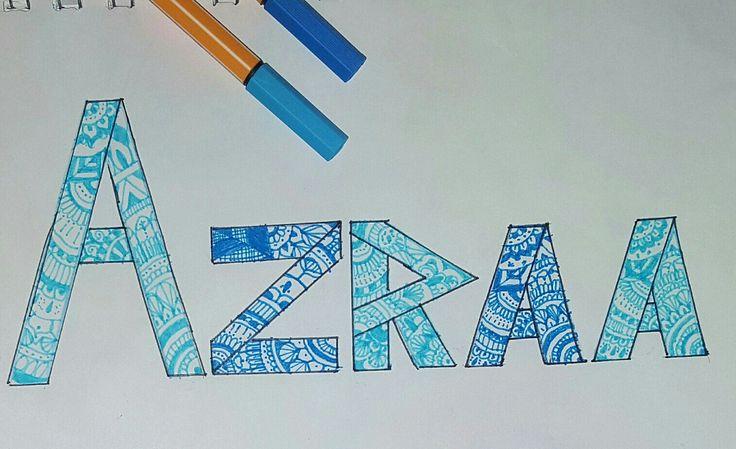 For my BFF Azraa Adam 😘