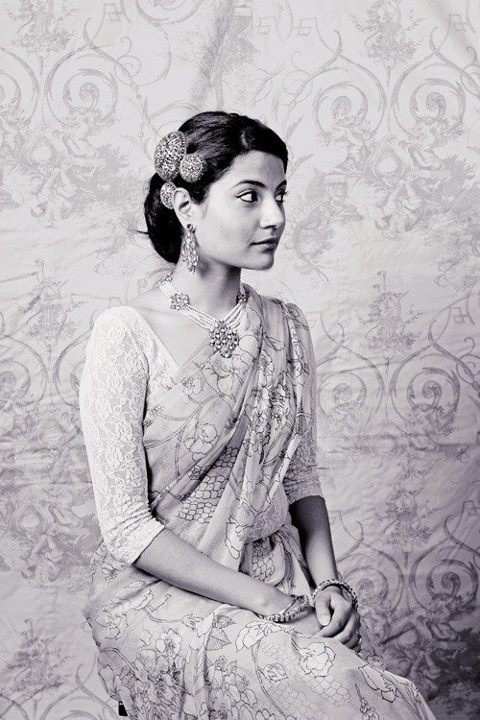 Are you crazy for lace? What do you think of the throwback Maharani style?    Photo Credit: http://notsoroutine.tumblr.com/
