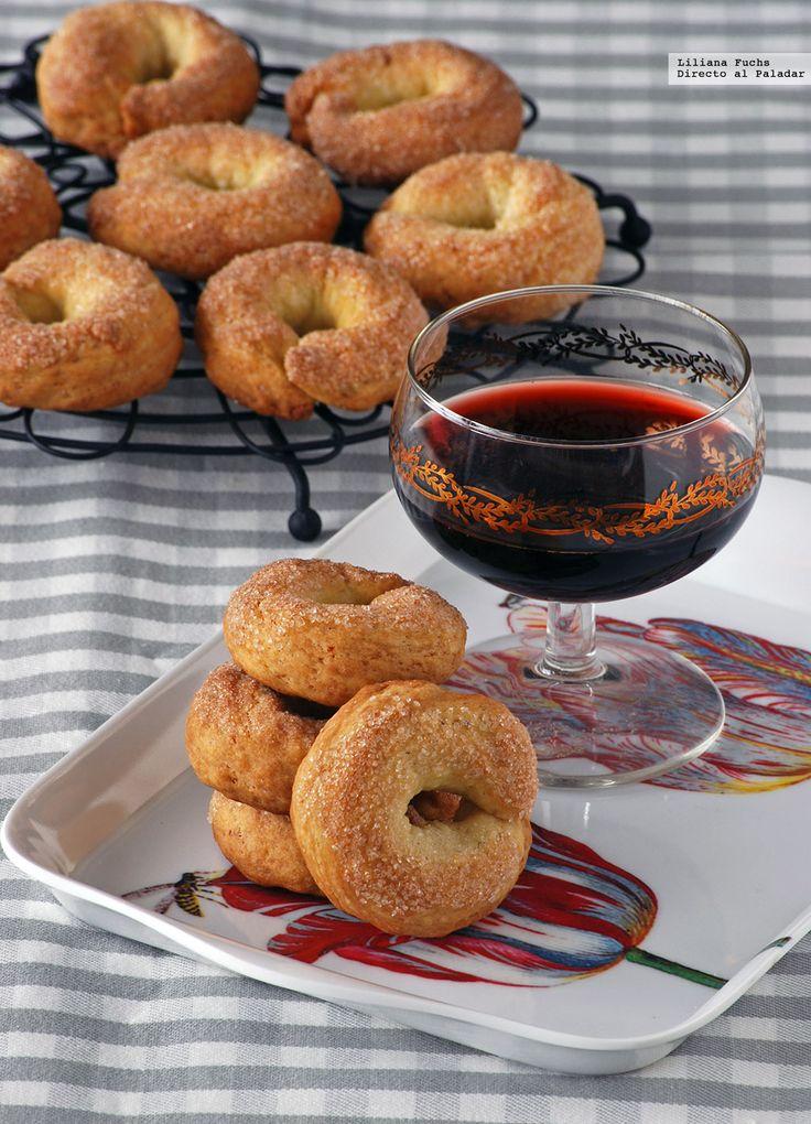 rosquillas de vino blanco aceite y limn receta para una sobremesa dulce