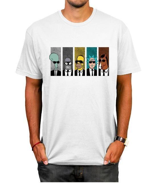 1fe3c068f0f1 Rick And Morty Bojack Futurama Funny Adult Swim T-Shirt | Products ...