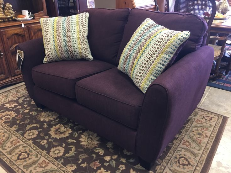 Come check out Mk Consignment West Store. 8542 West Central Wichita KS. Not local?? Check out our online inventory! #mk #consignment #forsale #sale #design #decor #homedesign #homedecor #deal #furniture #purple #sofa #loveseat #unique #couch #livingroom #basement #local #smallbusiness