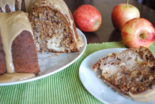 Seasonal Potluck: Apple Cream Cheese Bundt Cake