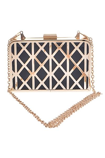 Gold Frame Clutch · Nique's Online Boutique · Online Store Powered by Storenvy
