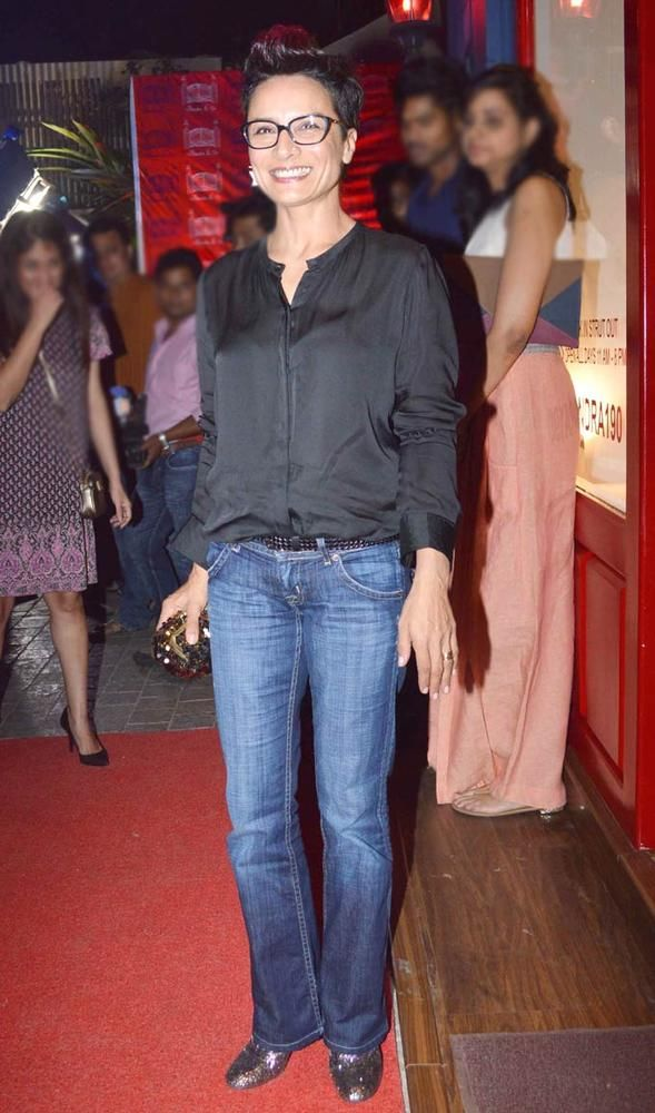 Adhuna Akhtar at the launch of Sussanne Roshan, Seema Khan and Maheep Kapoor's retail boutique Bandra 190. #Fashion #Style #Bollywood #Beauty