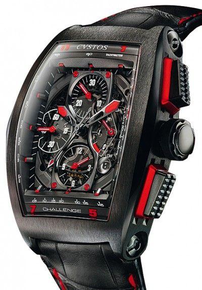 cvstos watches   Cvstos   Challenge Chrono GP Monaco   Steel   Watch database watchtime ...