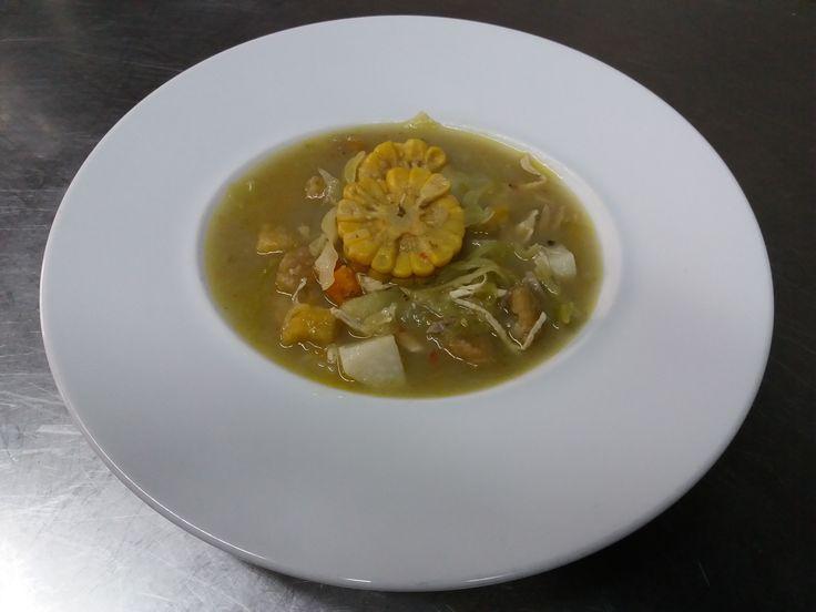 Sopa Sancocho Paisa (Sancocho Antioqueño)