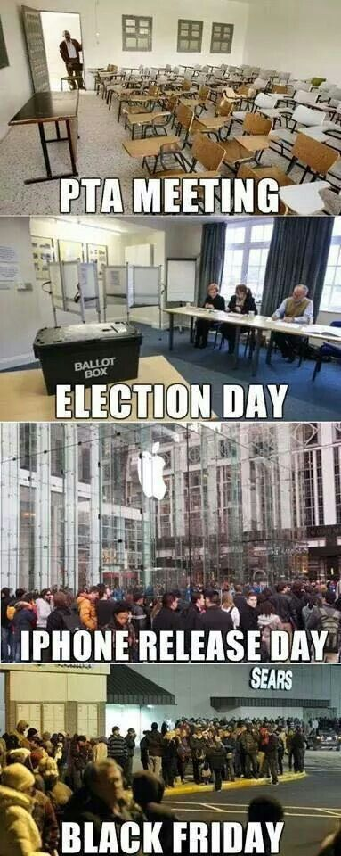 Voting should be a holiday and mandatory.
