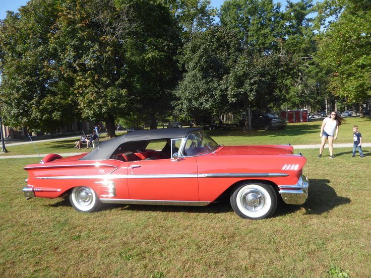 From Cruiseins to Concours — '58 Impala, an all time