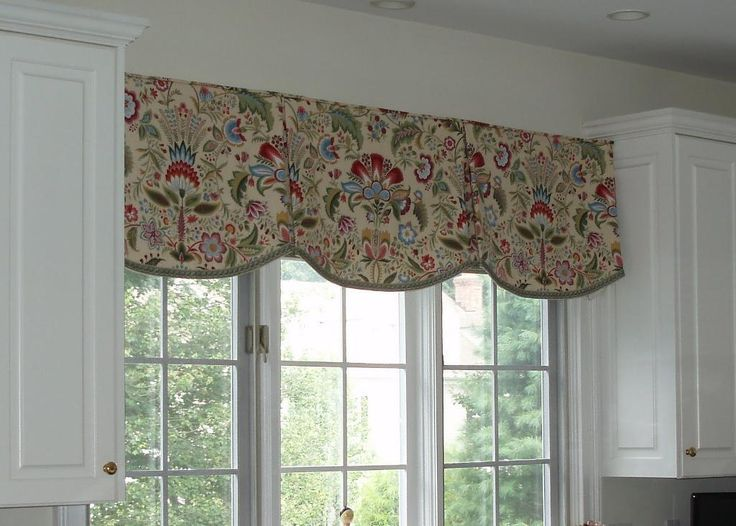 valances | Kitchen Scalloped Valance by Sue Sampson a... | Sewing Ideas