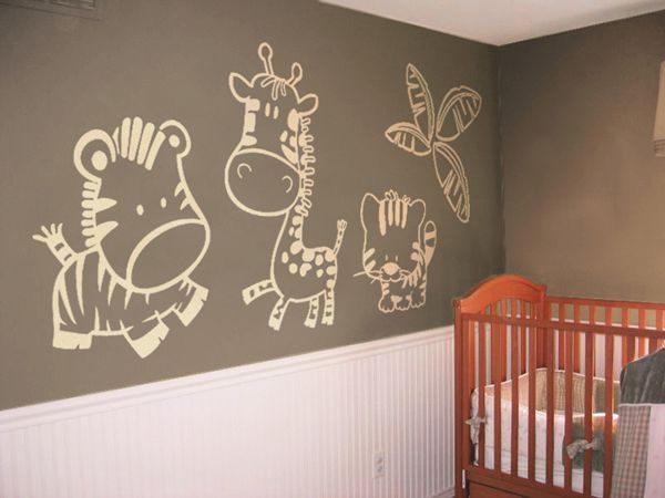 17 Best Ideas About Murales Para La Cuna Del Beb On Pinterest Guarder As Habitaci N Beb S Y