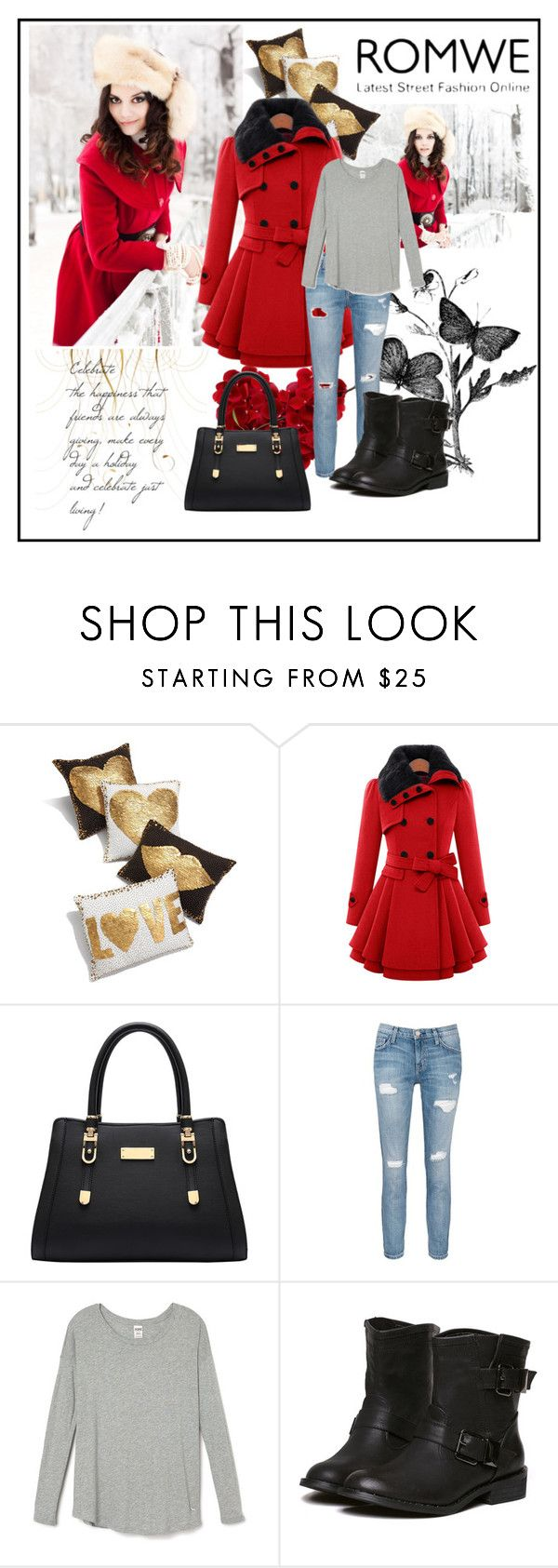 """""""Romwe 05"""" by aida-1999 ❤ liked on Polyvore featuring Jonathan Adler and Current/Elliott"""