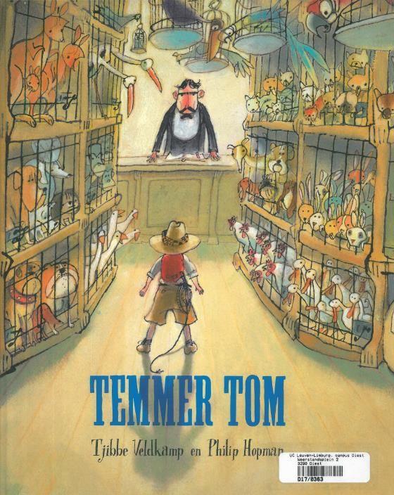 Temmer Tom (2011). Veldkamp Tjibbe en Hopman Philip. Lemniscaat Rotterdam