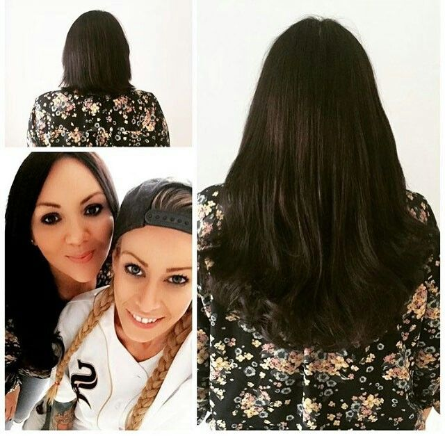 Thank god for Jodie @goldhairextensions - I love to change my hair from short to long and back again and this fab lady makes it happen fuss free! If you want great lush locks fast this is your gal... Thanks so much darling! X