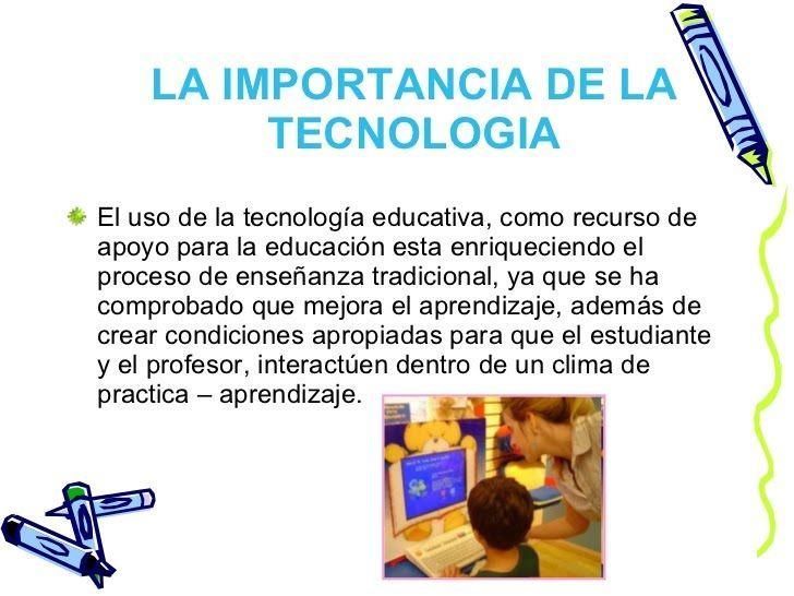 Importancia De La Tecnología