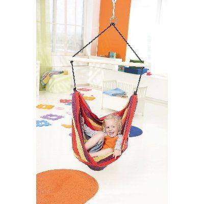 AZ 1012300 - Poltrona sospesa per bambini - per interni e esterni - Kid's Relax - Amazonas Baby - foto interni