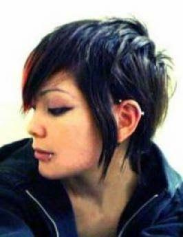 emo girl mullet hairstyles in 2020  emo girl hairstyles