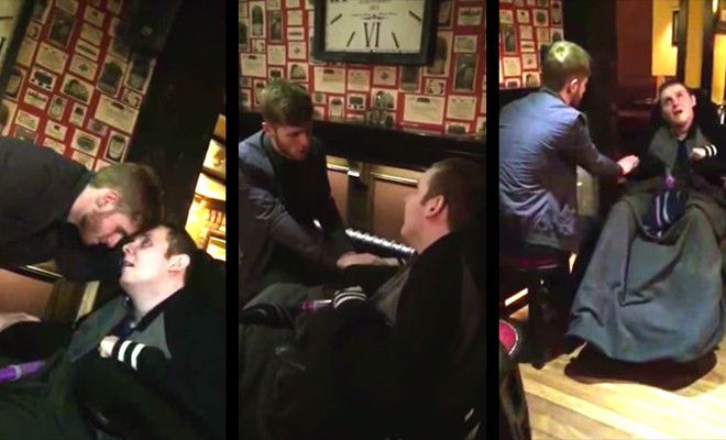 Lad Sings 'Bring Him Home' To His Brain Damaged Brother