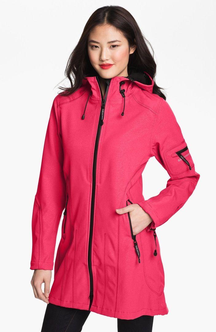 Main Image - Ilse Jacobsen Rain 7 Hooded Water Resistant Coat