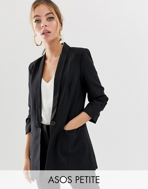 9edb9c8917f DESIGN Petite mix & match blazer   Currently craving   Asos, Blazer,  Jackets for women