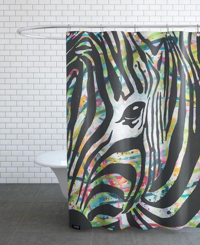 zzz als Duschvorhang von Artyfact Gallery   JUNIQE
