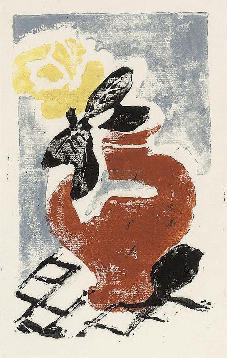 ✽ vanessa bell - untitled linocut - christie's