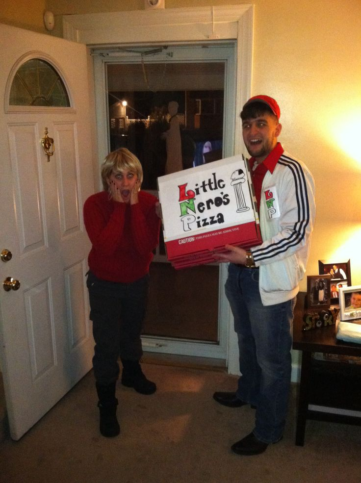Homemade Halloween costume!! Kevin Mcallister & the Pizza ...
