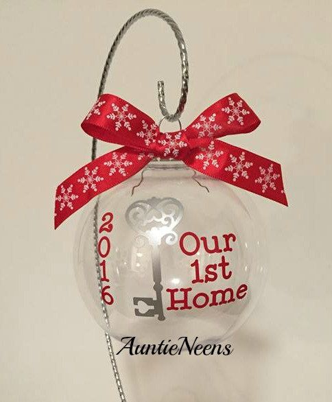 New Home Christmas Ornament Christmas Gift  by AuntieNeens on Etsy