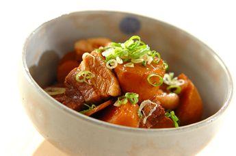 里芋と豚の煮物【E・レシピ】料理のプロが作る簡単レシピ/2009.10.16公開のレシピです。