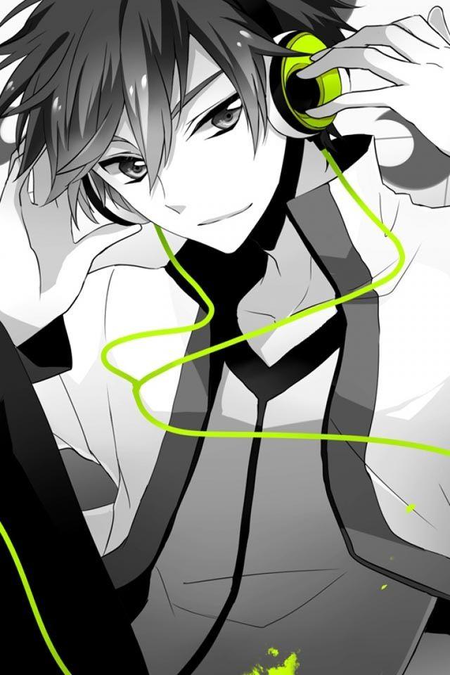 Oui, j'écoute de la musique...avec un casque vert fluo...